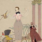 Mademoiselle De Maupin Art Print