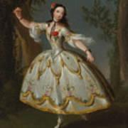 Mademoiselle Violette Dancing Art Print
