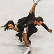 Madison Chock And Evan Bates Art Print