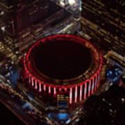 Madison Square Garden Aerial Art Print