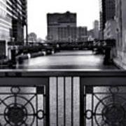 Madison Street Bridge - 3 Art Print