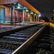 Madisonville Train Depot Art Print