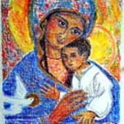 Madonna And Child Art Print
