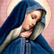Madonna Dolorosa Art Print by Stoyanka Ivanova