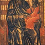 Madonna Icon, 13th Century Art Print