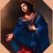 Madonna In Glory Art Print