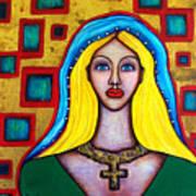 Madonna-putana Art Print by Brenda Higginson