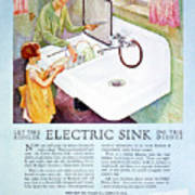Magazine Ad, 1926 Art Print