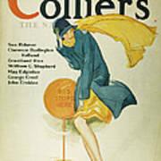 Magazine Cover, 1930 Art Print