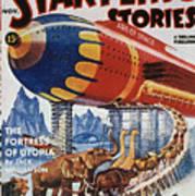 Magazine Cover, 1939 Art Print