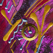 Magenta Joy Dreams Art Print