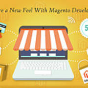 Magento Development Services In Usa Art Print