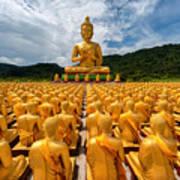 Magha Puja Memorial Buddhist Park Art Print