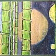 Magic Bamboo Art Print