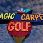 Magic Carpet Golf Art Print