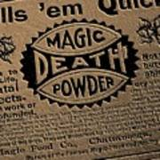 Magic Death Powder Art Print