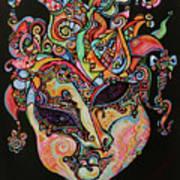 Magic Mask Art Print
