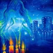 Magic Of The Night Art Print