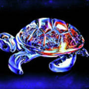Magic Turtle Art Print
