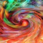Magical Energy Art Print by Linda Sannuti