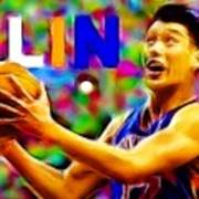 Magical Jeremy Lin Art Print