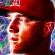 Magical Mike Trout Art Print