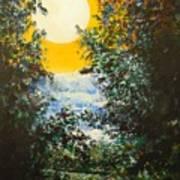 Magical Moonlight Art Print