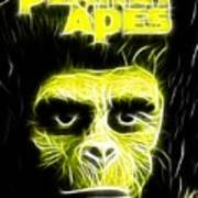 Magical Planet Of The Apes Art Print