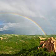 Magical Rainbow Panorama Art Print