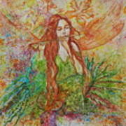 Magical Song Of Autumn Art Print