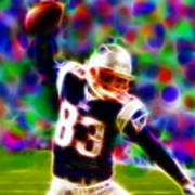 Magical Wes Welker  Art Print