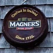 Magners Irish Cider Sign Art Print