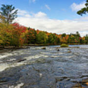 Magnetawan River In Fall Art Print