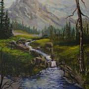Magnificent Rockies Art Print