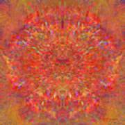 Magnificent Splatters Art Print