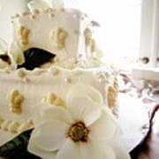 Magnolia Cake Three Art Print