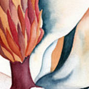 Magnolia Close-up I Art Print