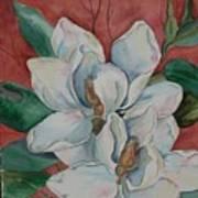 Magnolia Five Art Print