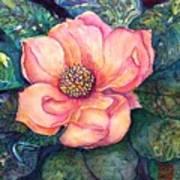 Magnolia In The Evening Art Print