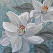 Magnolia Melody Art Print