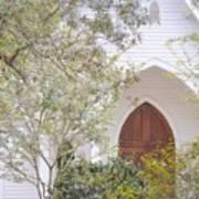 Magnolia Springs Church Art Print