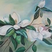 Magnolia Summer Art Print