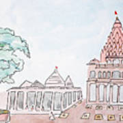 Mahakaleshwar Jyotirlinga Art Print