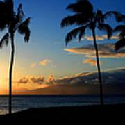 Mai Ka Aina Mai Ke Kai Kaanapali Maui Hawaii Art Print