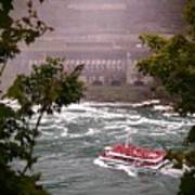 Maid Of The Mist Canadian Boat Art Print