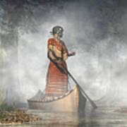 Maid Of The Mists Art Print