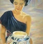 Maiden Of The Mesa Art Print by Ann Peck