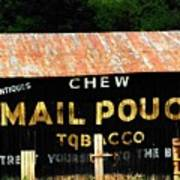Mail Pouch Art Print