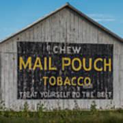 Mail Pouch Tobacco Barn Art Print