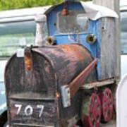 Mail Truck Art Print